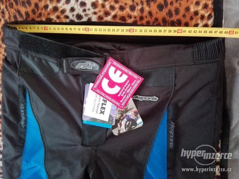 Prodám pánské textilní moto kalhoty RK SPORT - foto 14