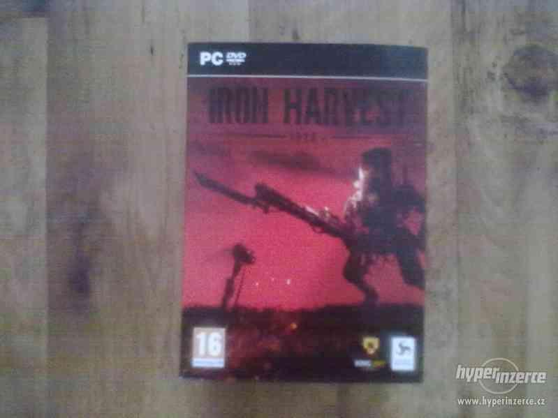 Prodám Iron Harvers Collectors Edition PC - foto 2