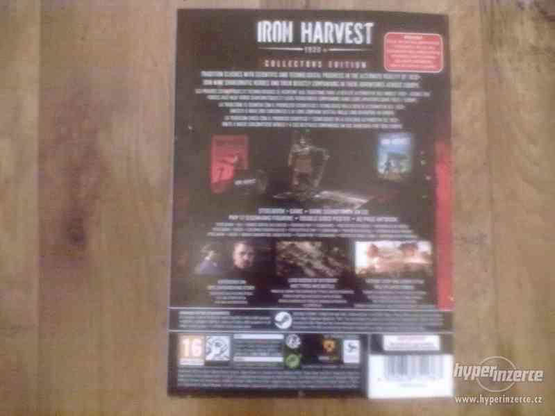 Prodám Iron Harvers Collectors Edition PC - foto 3