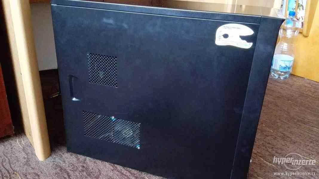 Funkční PC + myš, klávesnice, monitor - foto 3