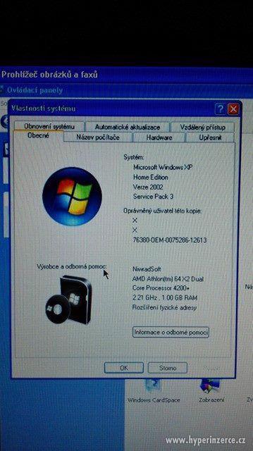 Funkční PC + myš, klávesnice, monitor - foto 6