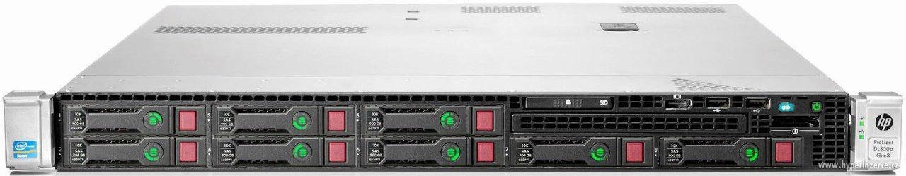 HP ProLiant DL360p Gen8: 2× Xeon E5-2630, 128 GB RAM, 73 GB - foto 1