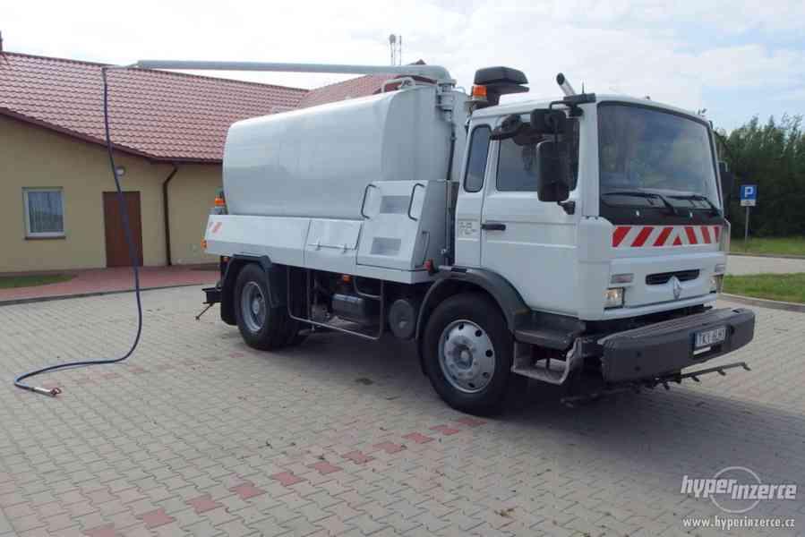 RENAULT Midlum KROPIČKA CISTERNA Watertank 8000L. - foto 9