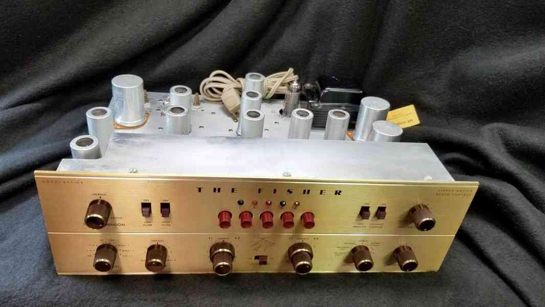 Fisher 400-CX-2 Vacuum Tube Stereo Preamplifier