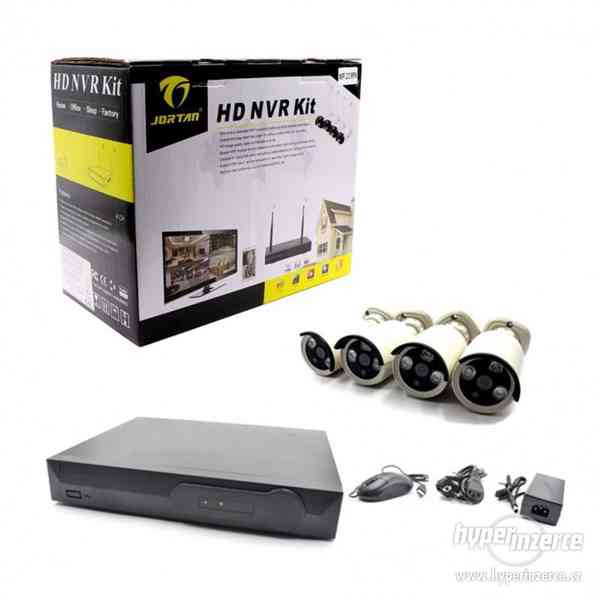 jortan hd nvr kit+Bezdrátový bezpečnostní systém 4kamery