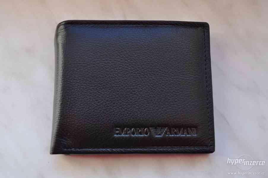 ***ARMANI*** pánská kožená peněženka