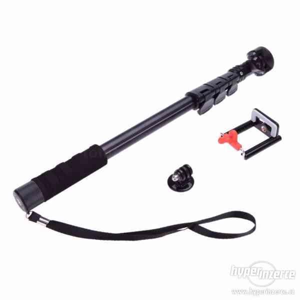 Kvalitní monopod - GoPro SJ4000 video 123cm včetně tripodu - foto 1