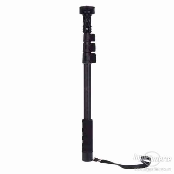 Kvalitní monopod - GoPro SJ4000 video 123cm včetně tripodu - foto 2
