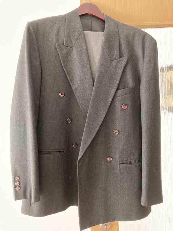 Prodám pánské obleky velikost 52 !!! - foto 3
