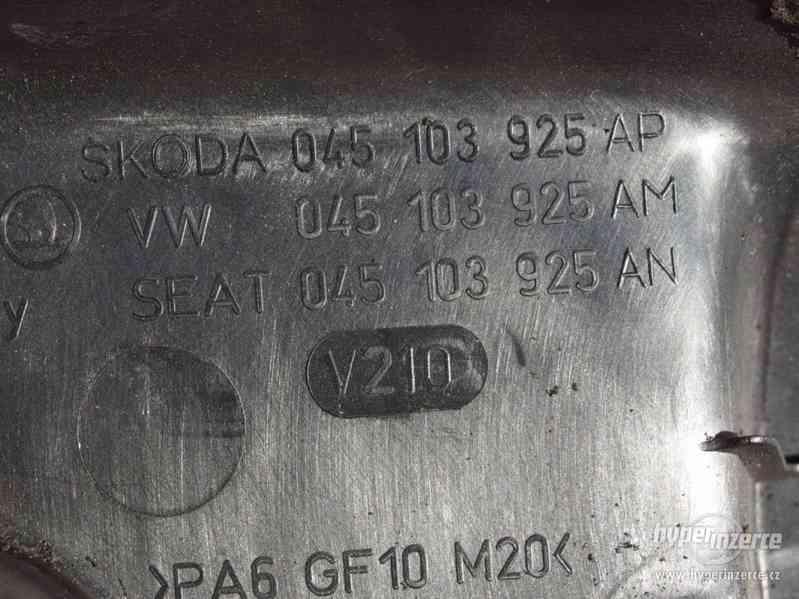 Kryt motoru Škoda Fabia I 1.4 TDi - foto 7