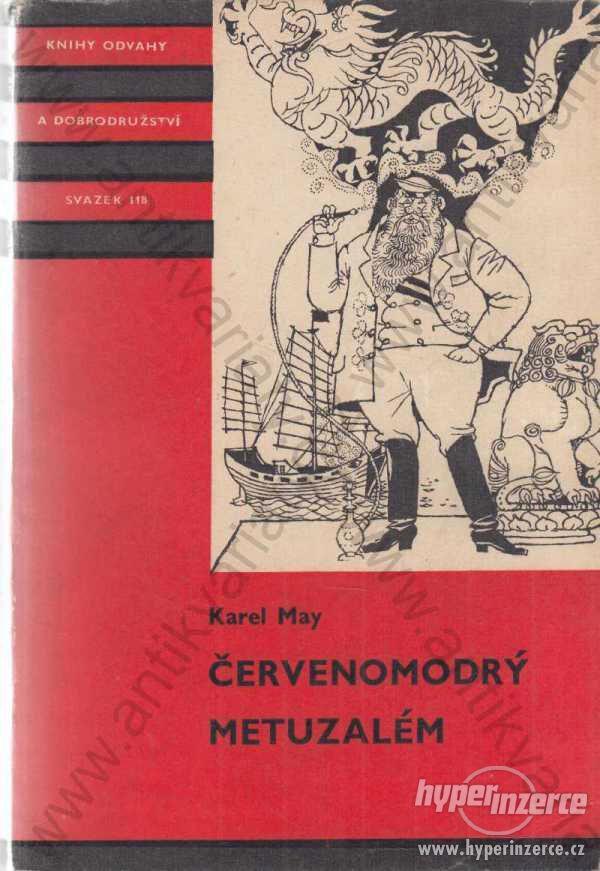 Červenomodrý metuzalém Karel May