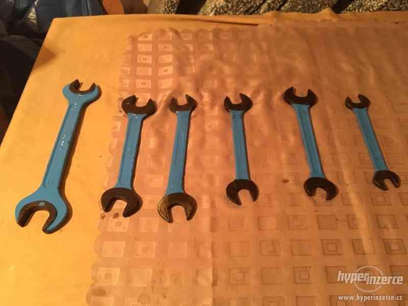 Prodám  ploché klíče - foto 3