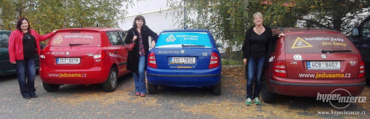 Lektorky kondičních jízd Jedu sama - foto 2