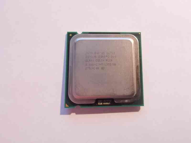 Procesor Intel Core 2 Duo E6750 2,66GHz LGA775 - foto 1