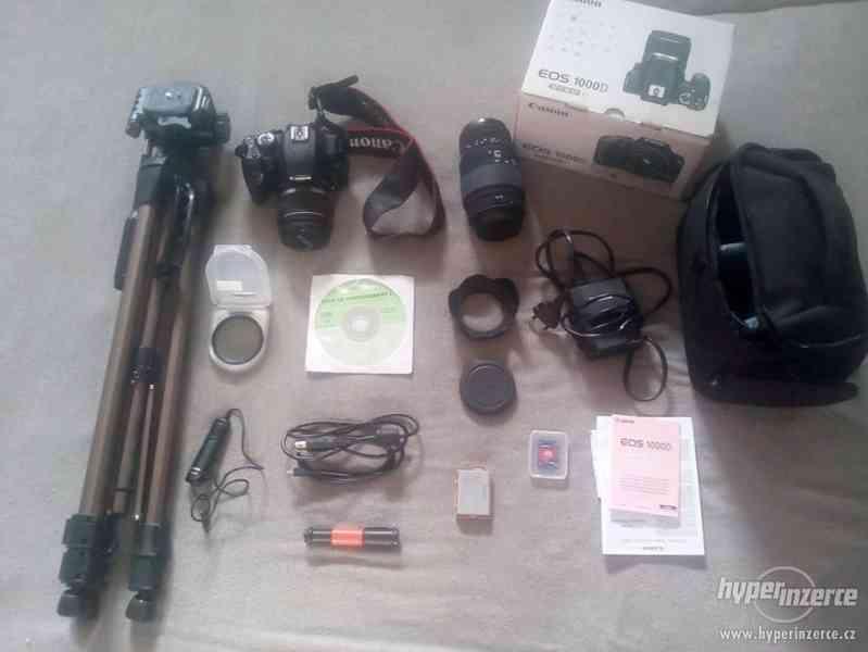 Canon EOS1000D PLUS vybavení