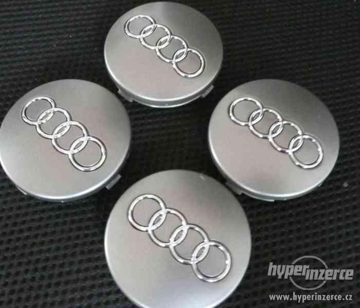 60mm středové pokličky do alu litých kol Audi 4B0601170
