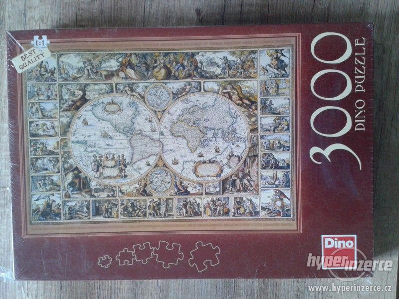 Puzzle Dino 3000 dílků