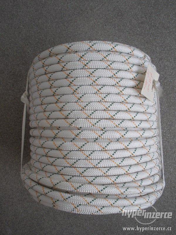 Statické polyamidové lano (PA) s jádrem 12 mm - foto 1