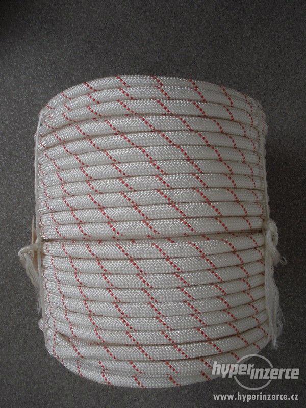 Statické polyamidové lano (PA) s jádrem 12 mm - foto 2