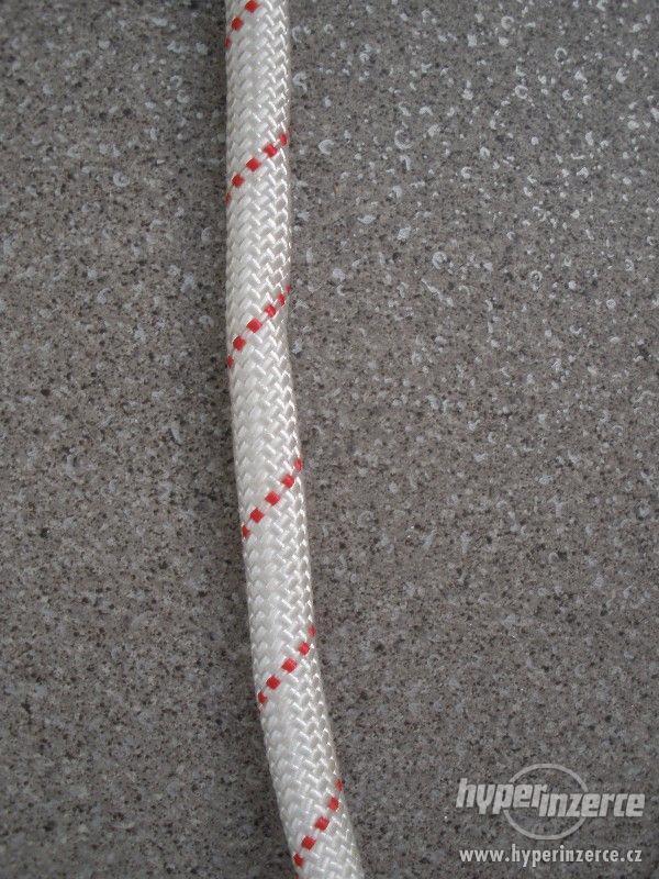 Statické polyamidové lano (PA) s jádrem 12 mm - foto 3