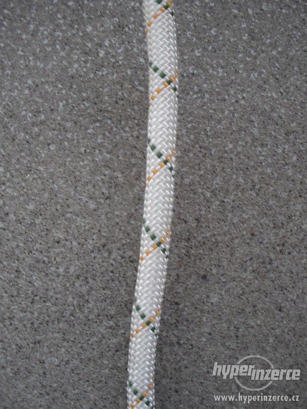 Statické polyamidové lano (PA) s jádrem 12 mm - foto 4