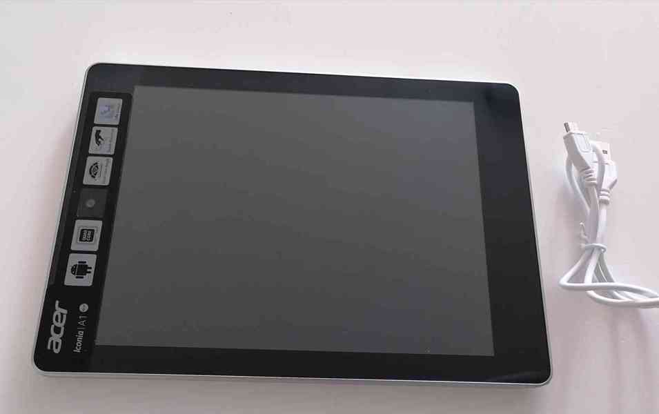 Tablet: Acer Iconia Tab A1-810 - foto 1