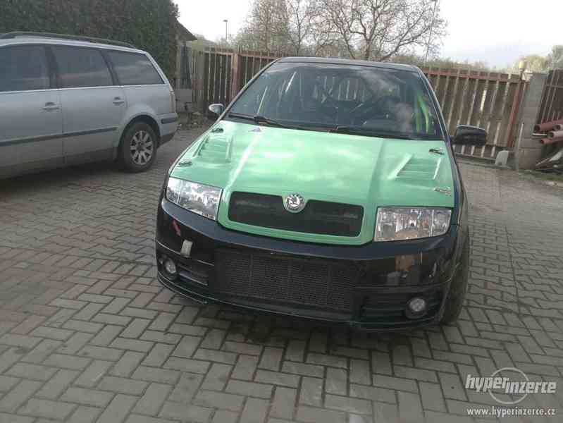 Závodní speciál na rallye Škoda Fabia RS 1,9 TDi. - foto 8