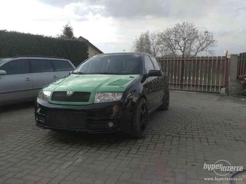 Závodní speciál na rallye Škoda Fabia RS 1,9 TDi. - foto 9