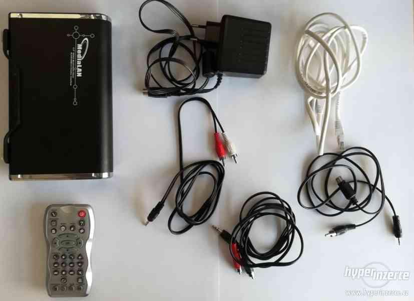 Prodám externí disk s funkcí media centra Wellan 750GB - foto 4