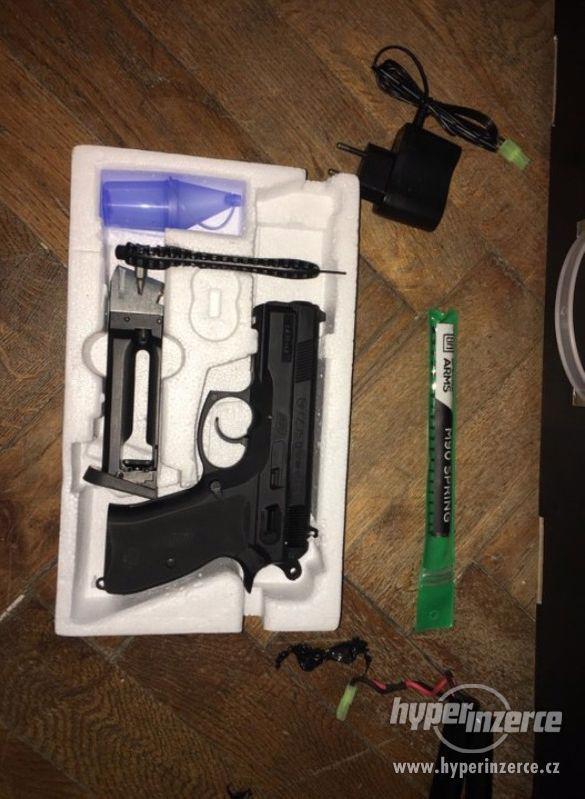 Plynová pistole - ASG CZ75 Compact - foto 1