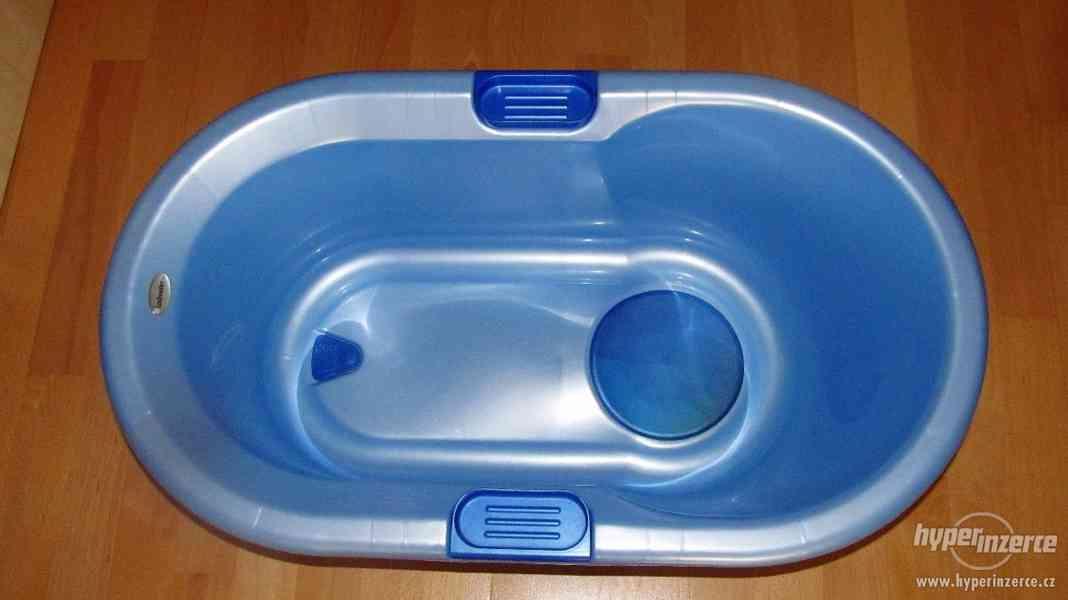 Dětská vanička LOCKWEILER, De Luxe, (perleťově modrá)