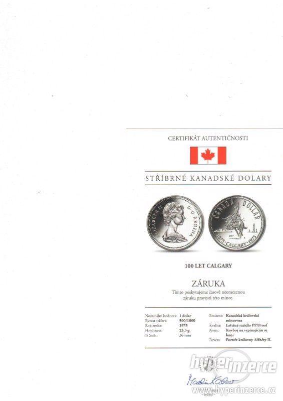 prodám kolekce stříbrných mincí