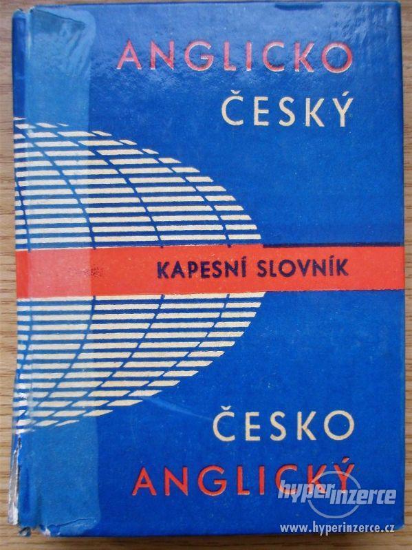 Anglicko-český a česko-anglický