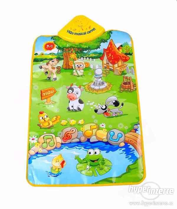 NOVÁ hrací interaktivní, vzdělávací podložka- deka pro děti