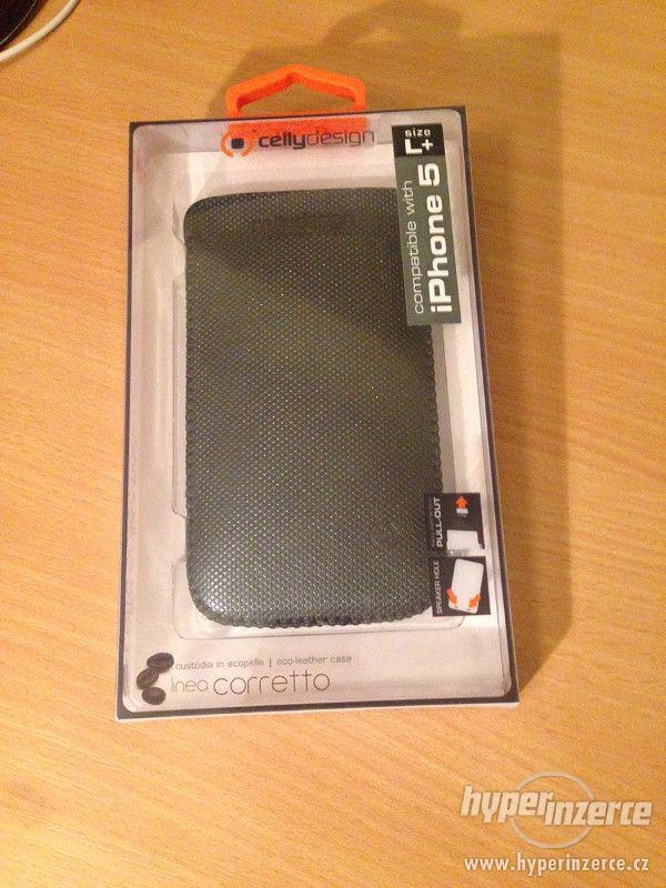 Koženkové pouzdro pro Apple iPhone 5/5S