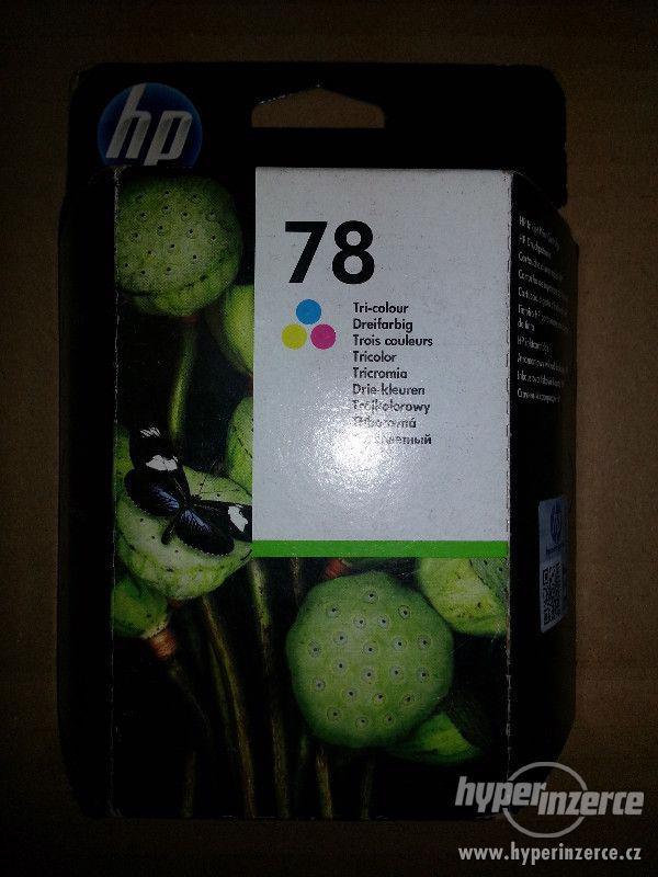 HP 78 - nová original cartridge