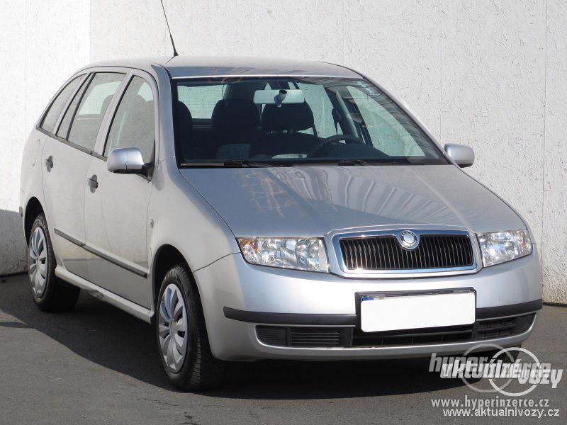 Škoda Fabia 1.2, benzín, rok 2004, el. okna, STK, centrál, klima