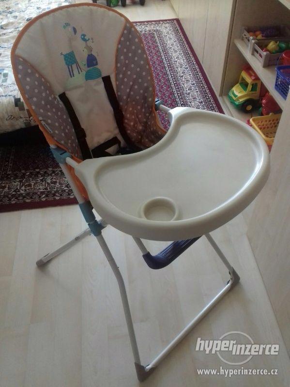 Dětská jídelní stolička - foto 1