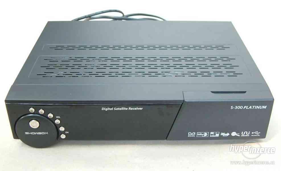 Digitální satelitní přijímač ShowBox S-300 platinum