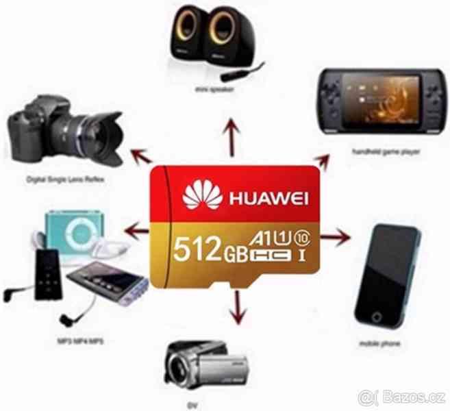 Paměťové karty micro SDHC 512 GB+sd+USB adaptér - foto 2