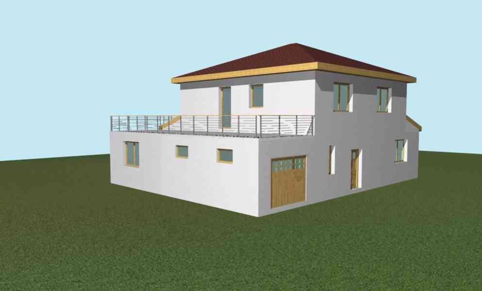 prodej projektu dvougeneračního rodinného domu