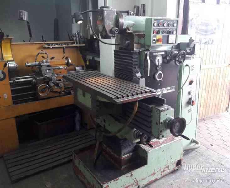 Frézky - nástrojářské FN 40 - foto 1