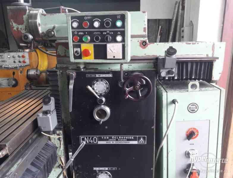 Frézky - nástrojářské FN 40 - foto 2