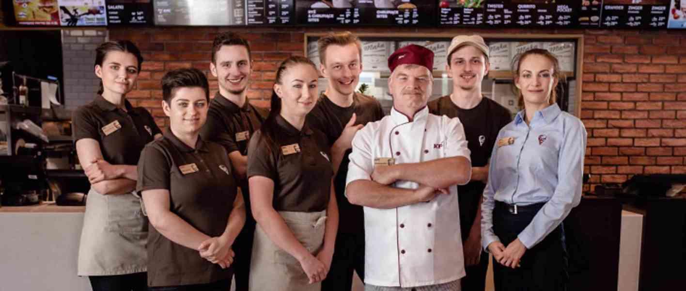 Flexibilní práce v KFC Anděl