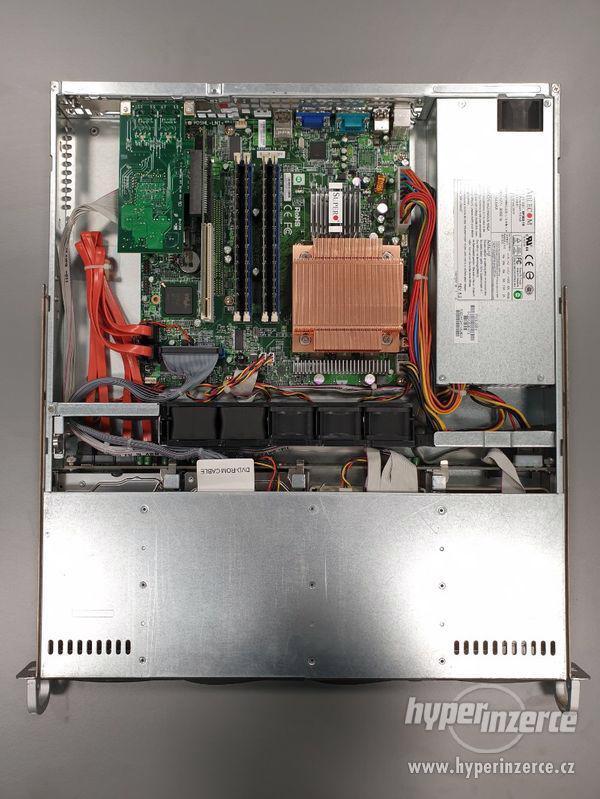 Supermicro PDSMLX, Intel Core2Duo 2200 MHz, 2 Core, 8 GB RAM