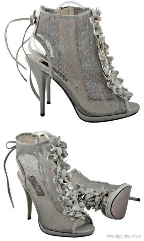 Letní boty vel. 38, zn. Sergio Todzi