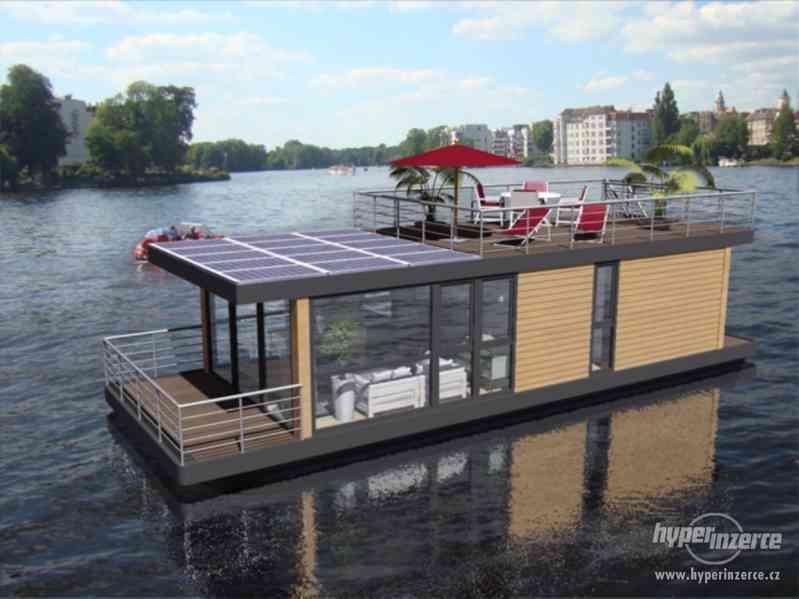 Luxusní houseboat - Triteria