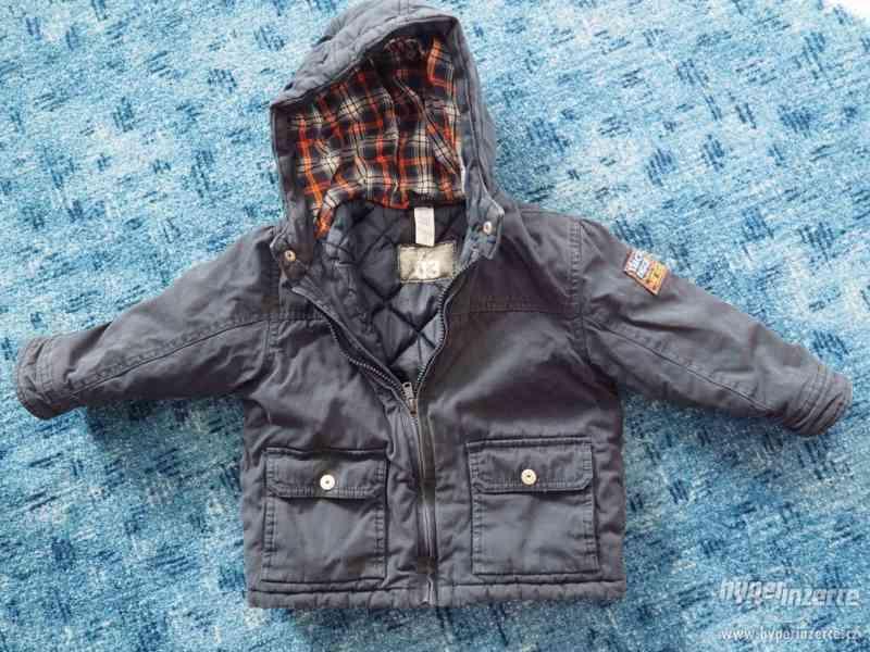 zimní bundy, bunda vel. 86, 80, 92, RŮZNÉ FOTKY!