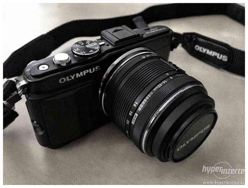 Zanovni Olympus E-PL5 černý + 14-42 mm IIR - foto 1