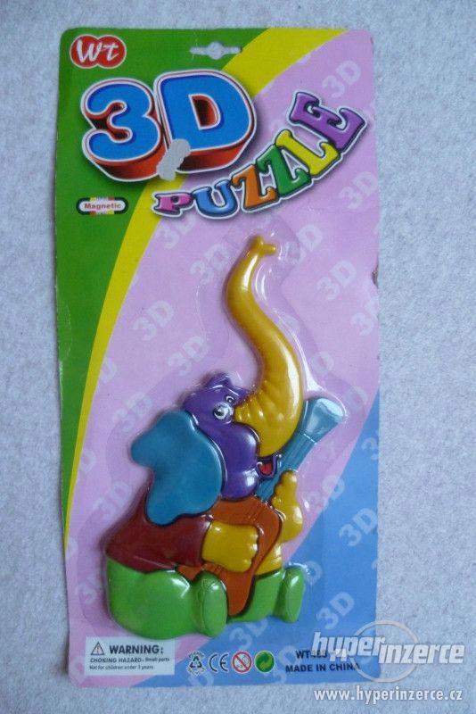 Dětské 3D puzzle - slon